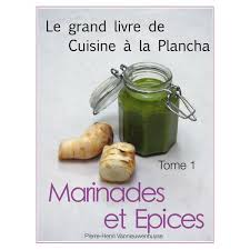 livre de cuisine grand chef tome 1 marinades et epices format pdf chef henri par