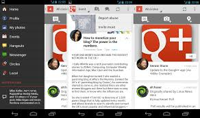 hangouts app android plus mobile app gets hangouts on air support on android coming