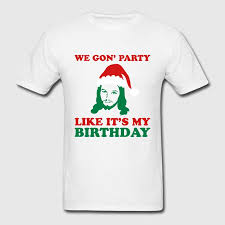 jesus birthday t shirt spreadshirt