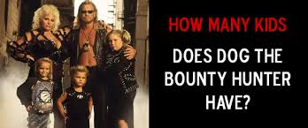 how many kids does dog the bounty hunter have dog the bounty hunter
