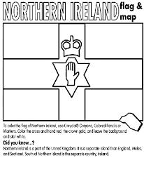 irish flag coloring printable version
