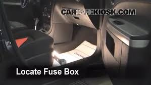 Seeking Fuse Interior Fuse Box Location 2006 2011 Chevrolet Hhr 2007