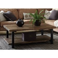 Rustic Tables Pomona Large Coffee Table Rustic Natural Walmart Com