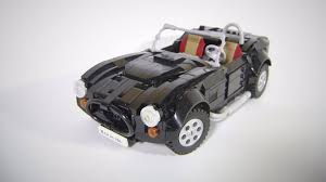lego sports car this lego ac cobra 427 needs to be a reality the drive
