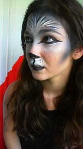 Bat Face Makeup Halloween by Best 25 Wolf Makeup Ideas On Pinterest Haloween Makeup Lion