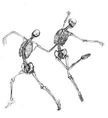 dancing halloween skeleton background dancing skeletons by shir a fab pinterest skeletons dancing
