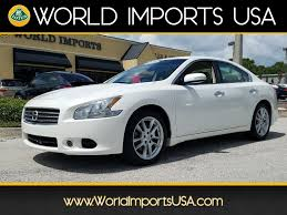 nissan maxima towing capacity used 2011 nissan maxima sv sedan for sale in jacksonville fl