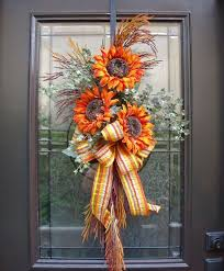 best 25 fall swags ideas on swags for doors fall