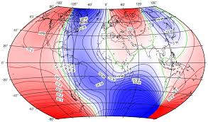 declination map an overview of the earth s magnetic field