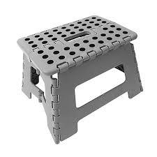 wickes plastic folding step stool grey wickes co uk
