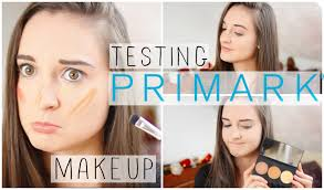 testing primark makeup 2016 contour kit foundation lipstick