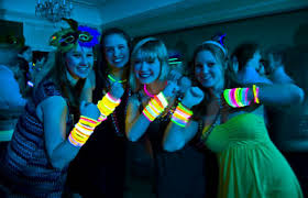 glow in the party decorations glow party theme ideas photos decorations necklaces bracelets