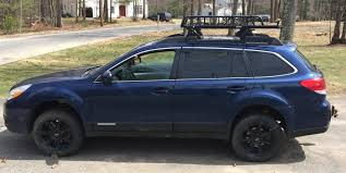 blue subaru outback 2007 luxury subaru outback lift kit