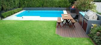 Backyard Inground Swimming Pools Small Fiberglass Pool Designs Small Inground Pool Designs Fresh