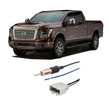nissan titan aftermarket stereo fits nissan titan 2008 2016 factory stereo to aftermarket radio