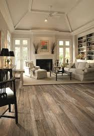 Hardwood Floor Living Room Rustin Reclaimed Wood Floor Look Without The Wood Get This Look