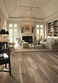 Hardwood Floor Living Room Rustin Reclaimed Wood Floor Look Without The Wood Get This Look