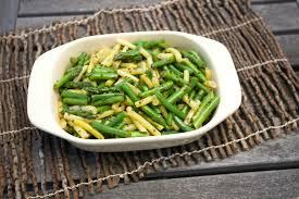 asparagus green bean and wax bean salad recipe chowhound