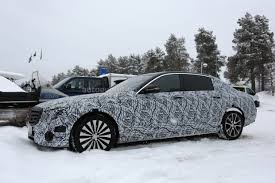 mercedes maybach 2018 mercedes maybach e class spied autoevolution