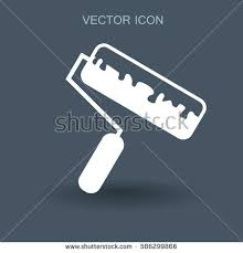 Painting Icon Barcode Scanner Icon Vector Filled Flat Stock Vector 600078143