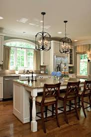 Pendant Kitchen Island Lighting by Kitchen Simple Lantern Style With 3 Light Kitchen Island