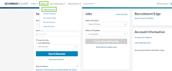 Careerbuilder Resume Database How To Conduct A Search In Talent Discovery