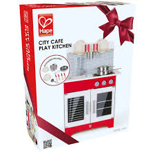 Play Kitchen Red Available At Butterfly 7 Hape City Cafe Play Kitchen E3144