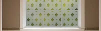 Fleur De Lis Home Decor Bathroom Frosted Window Film Fleur De Lis Gila Window Film