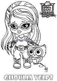 100 Ideas Monster Coloring Pages Baby Emergingartspdx