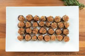 sausage stuffed mushrooms serena bakes simply from scratch