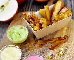 cuisine trompe l oeil dessert trompe l oeil frites ketchup mayo recette de dessert