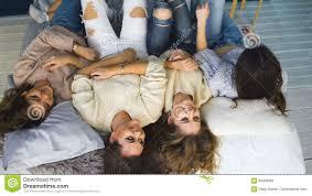 Girls Bedroom Pillows Four Beautiful Girls Throw Pillows Each Other Girlfriends Having