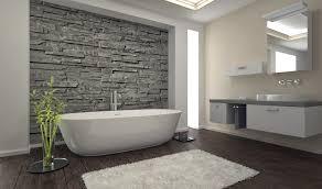 stone wall bathroom varnished wood bathroom cabinet with drawer