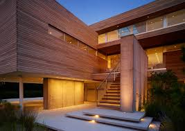 modern house entrance ocean deck house architecture stelle lomont rouhani architects
