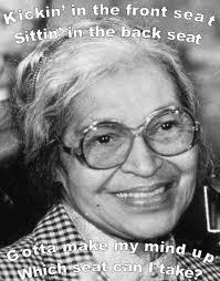 Rosa Parks Meme - image 106069 rebecca black friday know your meme