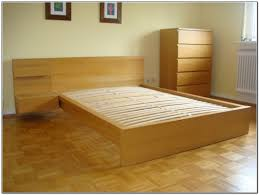 Malm Bed Frame Ikea Malm Bed Frame For Stylish Bedroom Mattress And Ideas Image