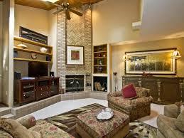 living room cozy sofa design rustic wall decor wooden rustic