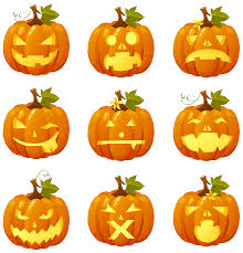 halloween pumpkins clip art clipart collection