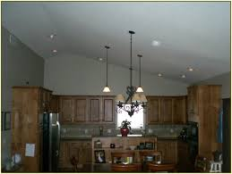 sloped recessed lighting trim residential cathedral ceiling