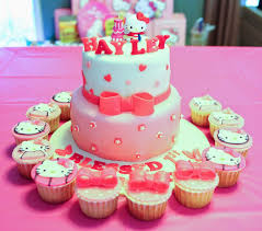 sherbakes pink hello kitty cake