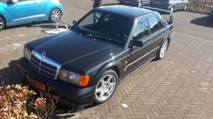 classic mercedes sedan classic mercedes 190e evo ii spotted in the netherlands motor1