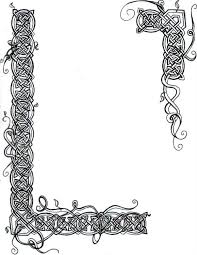 celtic frame coloring page super coloring clipart library
