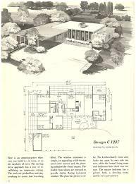 Rambler House Plans Vintage House Plans 1352 Antique Alter Ego 1960s Split Luxihome