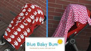 Baby Stroller Canopy by Car Seat U0026 Stroller Canopy From Blue Baby Bum Youtube