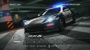 mazda worldwide need for speed pursuit police mazda rx 8 youtube