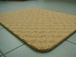Large Bathroom Rugs Bathroom Fancy Pvc Brown Bath Mats On Gray Ceramic Tile Flooring