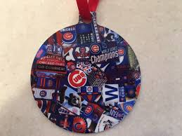 chicago cubs ornament world series chs