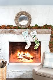 corner fireplace christmas decorating ideas mantelpiece decoration