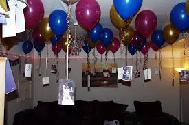 how to make birthday decoration at home surprise party decorations photolex net