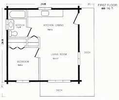 Log Garage Apartment Plans 20 U0027x20 U0027 Apt Floor Plan Excellent Use Of A Relativley Small